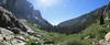 Looking down Tokopah Canyon