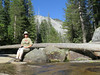 Taking a break by the Marble Fork of the Kaweah River