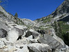 Heading up the canyon to Tokopah Falls.