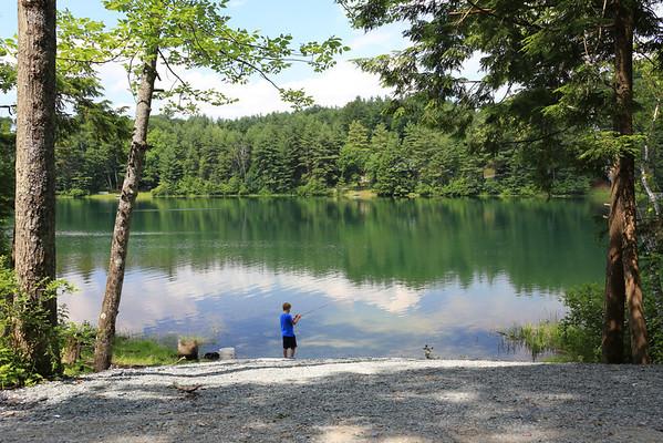 Glen Lake, Half Moon Pond, Black Pond_Mid Vermont