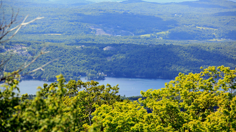 View from Wells Mountain in Vermont
