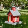 Schoolhouse Birdfeeder