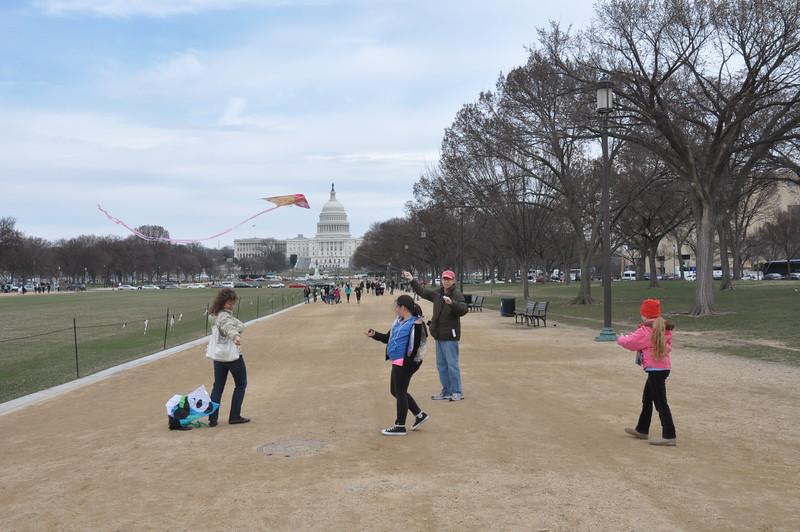 077, Washington - The Mall & Capitol