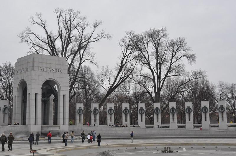 016, Washington - Workd War II Memorial