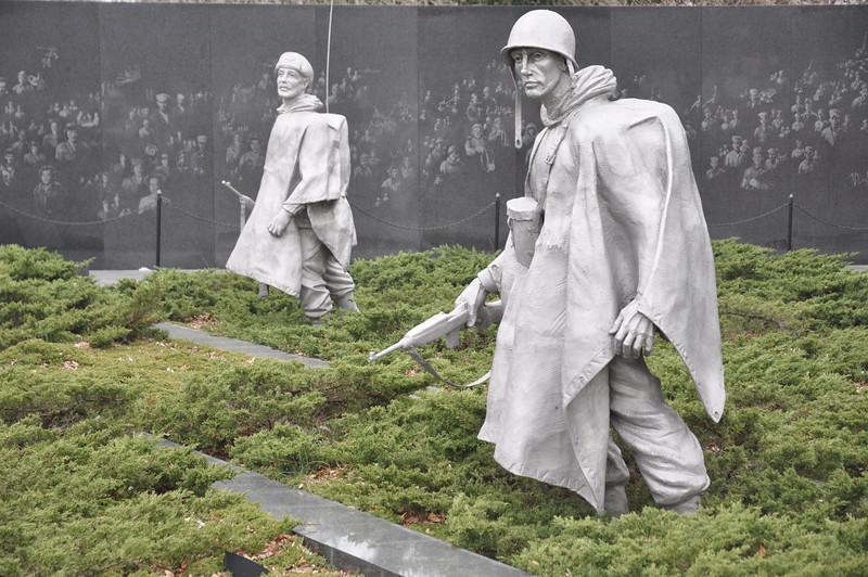 010, Washington - Korean War Veterans Memorial