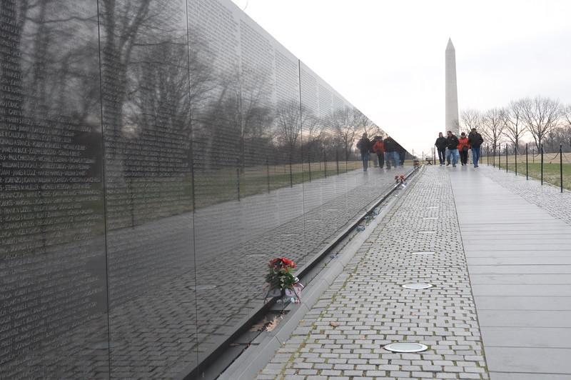 007, Washington - Vietnam memorial