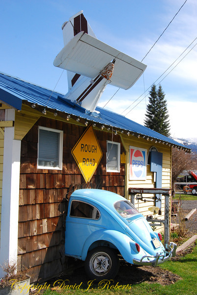 Coffee shop, Lostine, Oregon