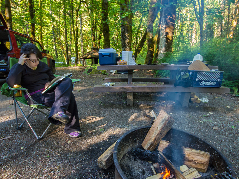 Elwha Campground, Olympic National Park
