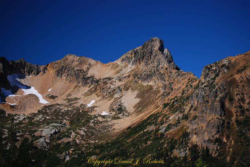 Rugged ridgeline above Porcupine Canyon