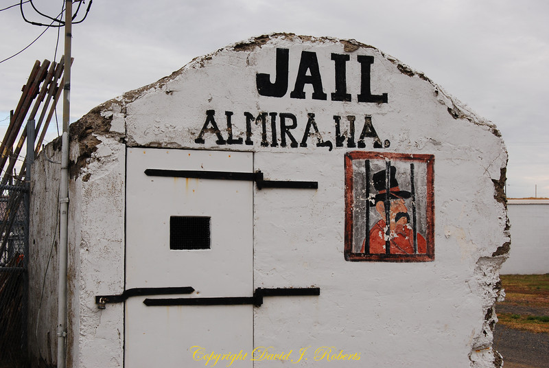 Old jail in Almira Washington