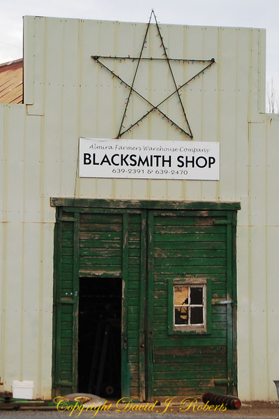 Blacksmith shop, Almira Washington