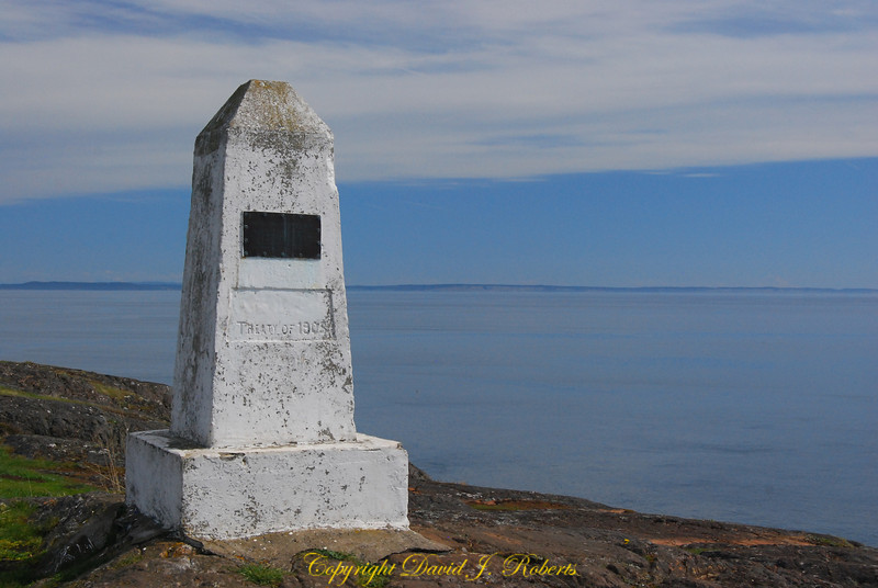 Monument at Iceberg Point