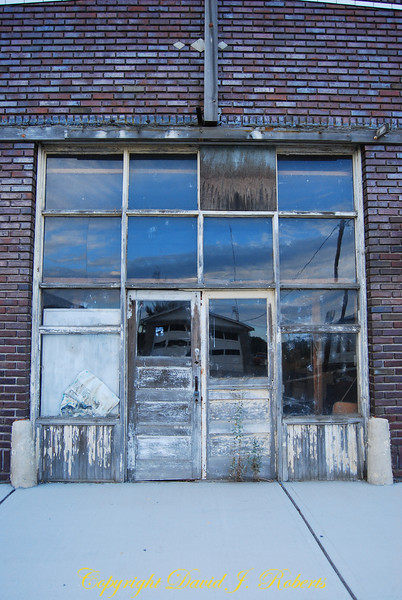 Old abandoned building in Hartline Washington