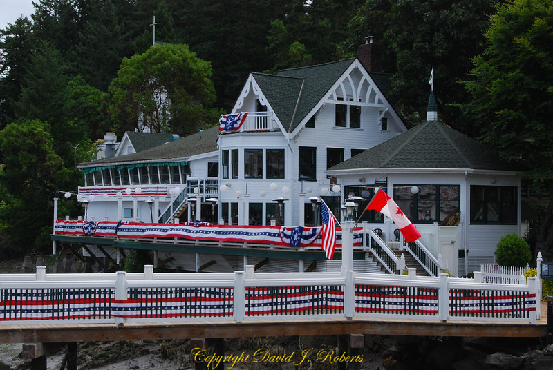 Restaurant at Roche Harbor, San Juan Island, Washington