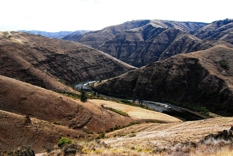 Grande Ronde River as seen from Highway 129.
