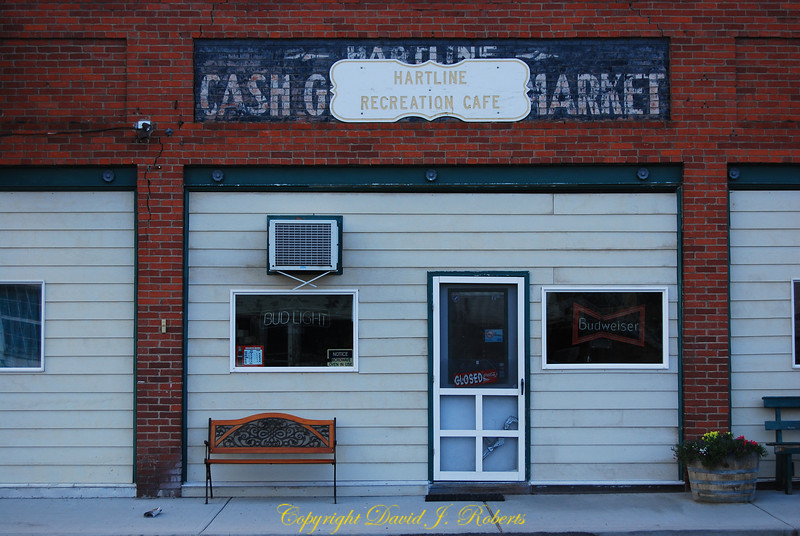 Hartline Recreation Cafe, Hartline Washington