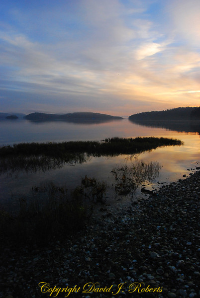 Mud Bay sunrise, Lopez Island