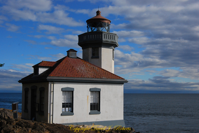 Lighthouse at Lime Kiln State Park, San Juan Island, Washington