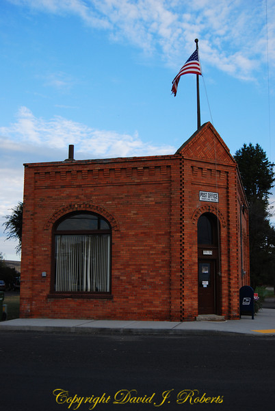 Hartline Post Office, Washington