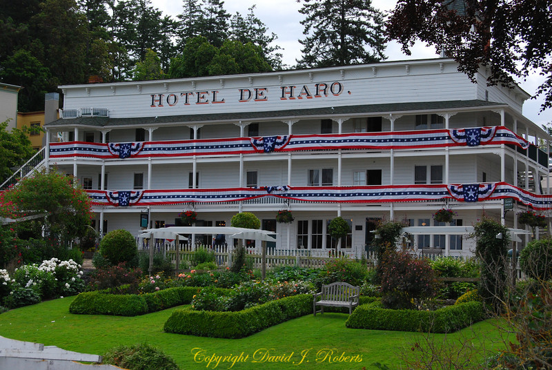 Hotel de Haro in Roche Harbor, San Juan Island, Washington