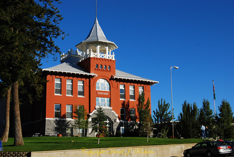 Douglas County Courthouse in Waterville, Washington