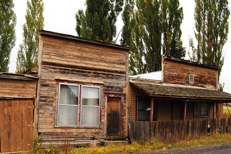 Old buildings in Anatone Washington