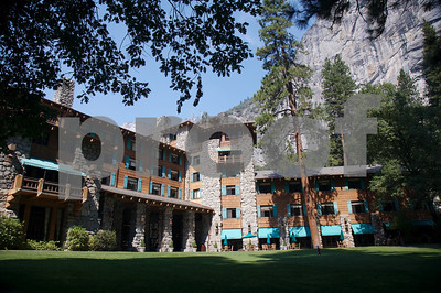 The Ahwanee inn at Yosemite National Park