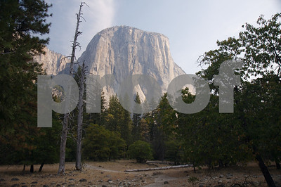 Yosemite's El Capitan from the valley floor