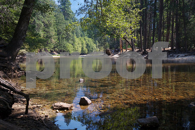 Merced River, below Glacier Point (Yosemite National Park)
