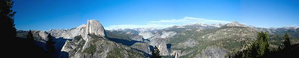Yosemite Valley Panorama.