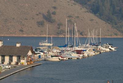Elk Point Marina at Blue Mesa Lake in Colorado