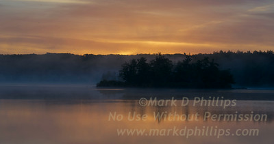 Sunrise on Big Pond, June 16, 2014