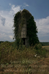 The Silo, all that remains of the farm in Brasstown, North Carolina, where Dillard and Erma Phillips gave me the best summers of my life.
