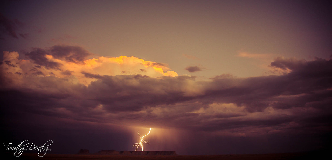 Lightning at Navajo Reservation, New Mexico