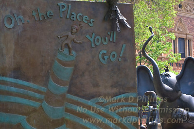 Oh, the Places You'll Go! at the Doctor Seuess Memorial in Springfield, MA