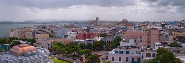 View of San Juan from Castillo de San Cristóbal