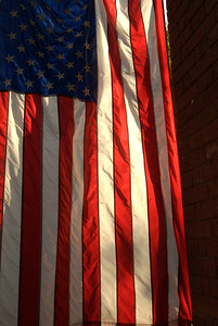 American Flag in Cobble Hill Brooklyn