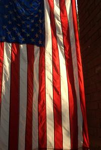 American Flag in Cobble Hill Brooklyn
