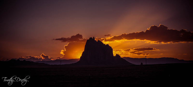 Shiprock Navajo Reservation, New Mexico