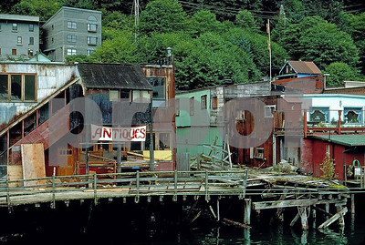 Water front in Juneau, Alaska