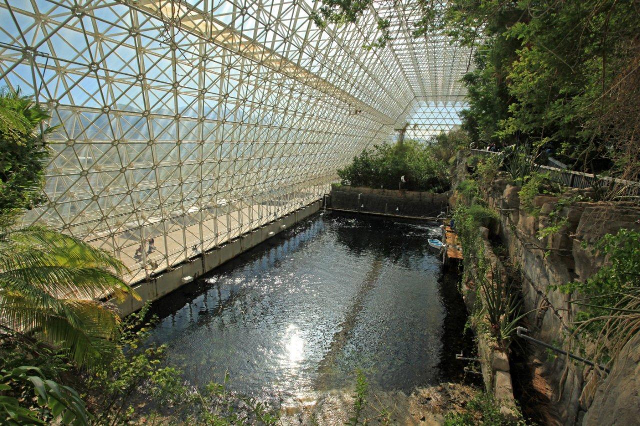 Biosphere 2 in Arizona