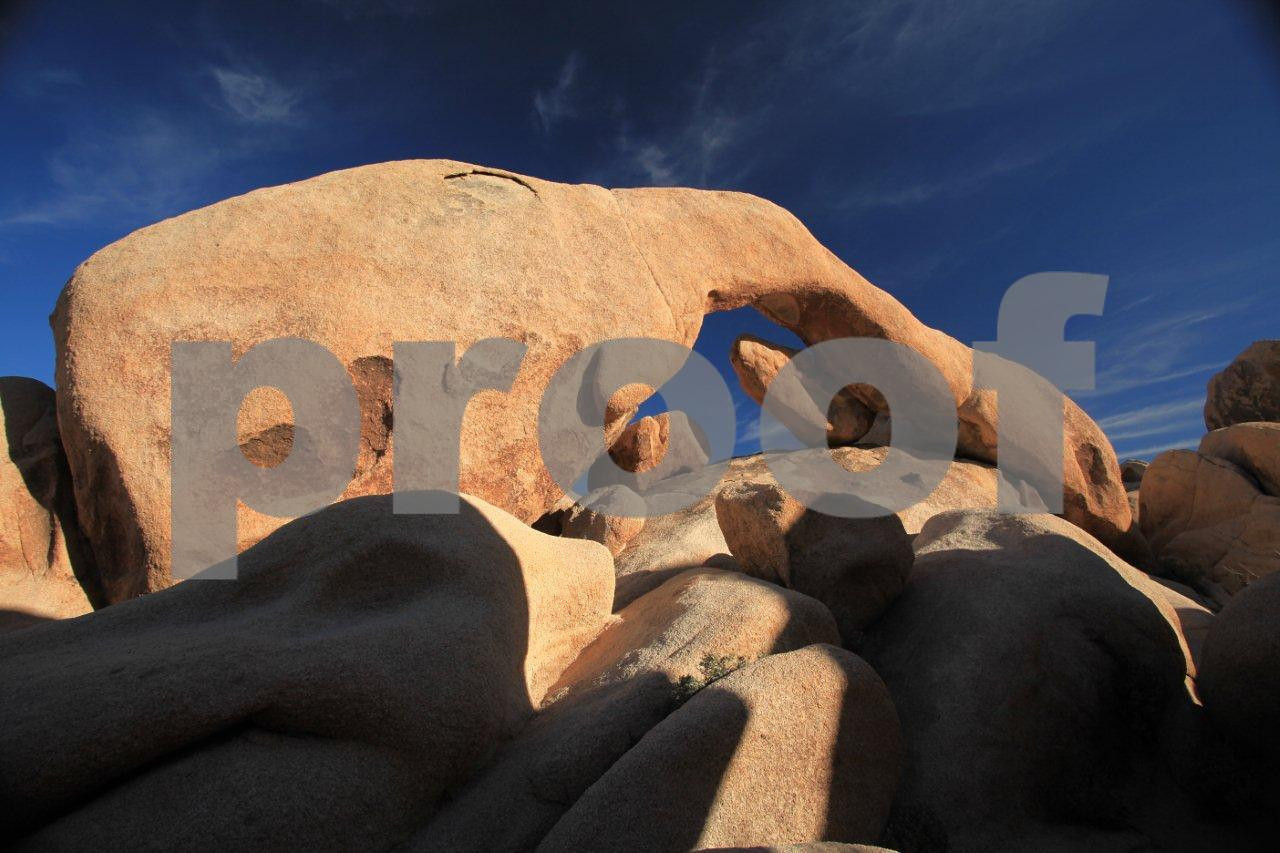Arch Rock at White Tank in Joshua Tree National Park, CA