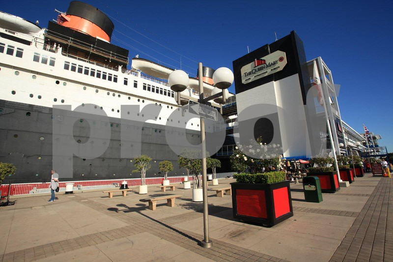 Queen Mary, Long Beach, California