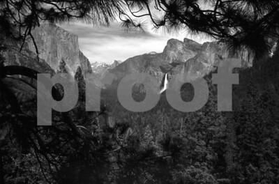 Yosemite Valley, Inspiration Point, California