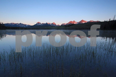 Sawtooth Mountains Little Redfish Lake 1547