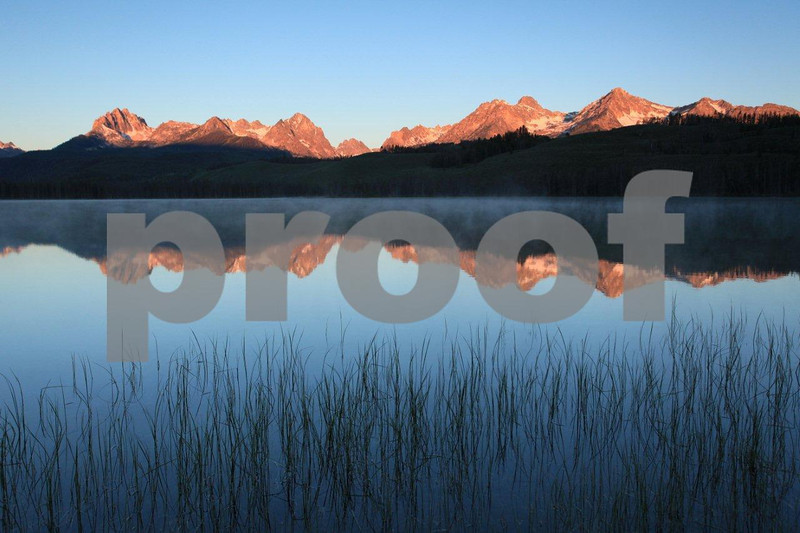 Sawtooth Mountains Little Redfish Lake 1561