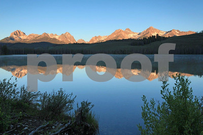 Sawtooth Mountains Little Redfish Lake 1572