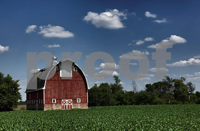 A farm near Mankato, MN.