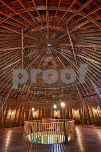 The Round Barn located south of Red Wing.