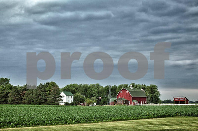 The history of farming is replicated at Farm America near Mankato, MN.